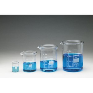 Simax Beakers, Squat Form with Spout - 50mL